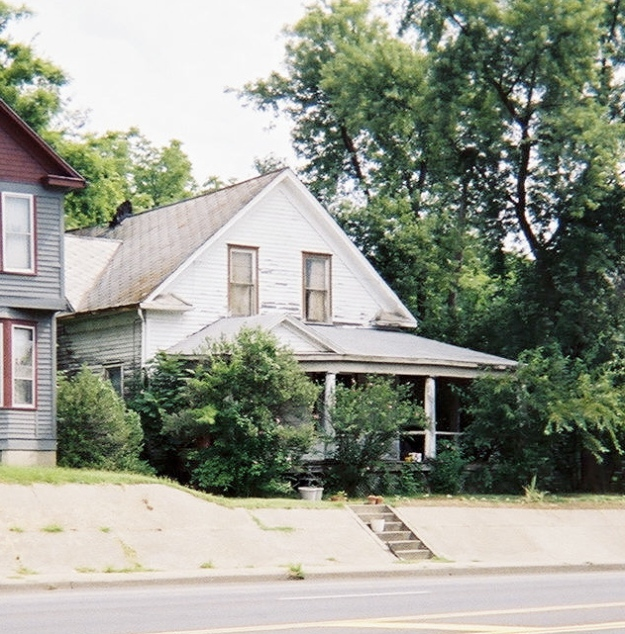 The house on William Street, 25 years later.