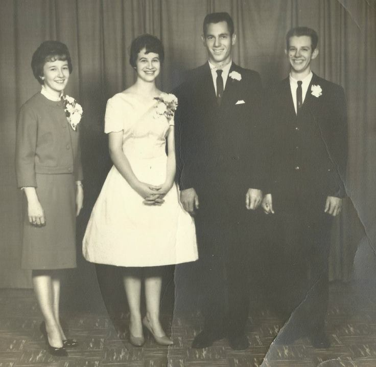 That's him, my birth father, on the far right.
