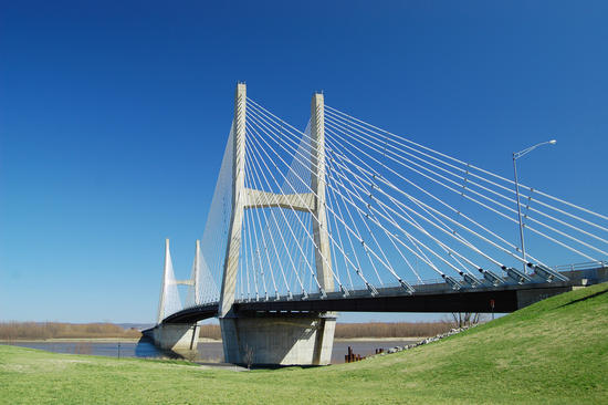The new bridge.